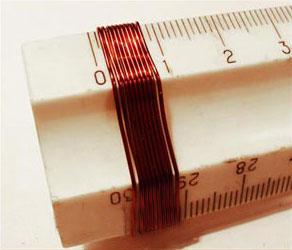 Измерение диаметра провода