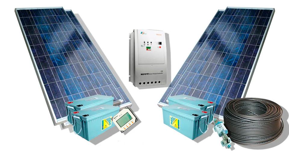 Комплект для солнечной электростанции