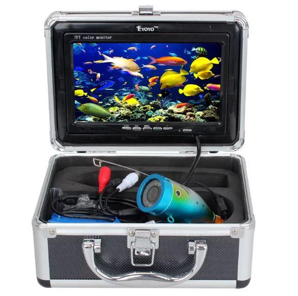 Пример комплектации подводной камеры для рыбалки