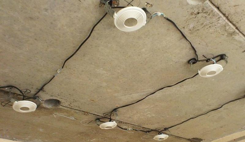 Прокладка кабельной линии без гофры