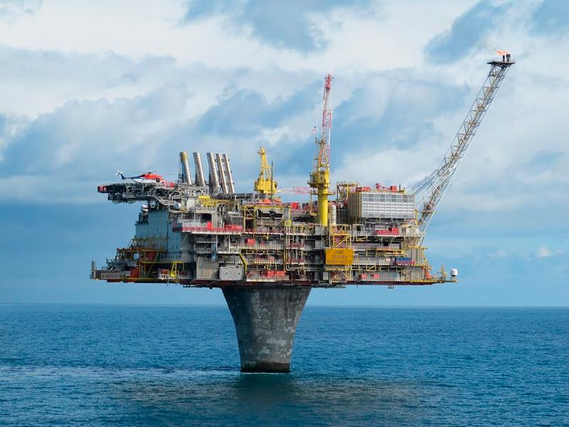 Морская нефтяная платформа Draugen